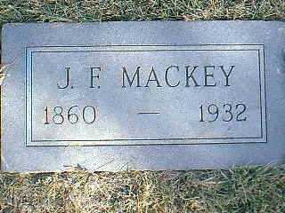 MACKEY, J.F. - Taylor County, Iowa | J.F. MACKEY