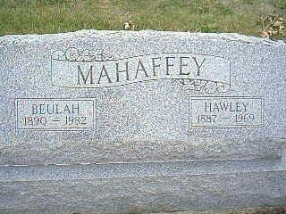 MAHAFFEY, HAWLEY - Taylor County, Iowa | HAWLEY MAHAFFEY