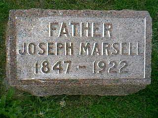 MARSELL, JOSEPH - Taylor County, Iowa | JOSEPH MARSELL