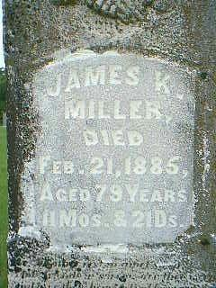 MILLER, JAMES K. - Taylor County, Iowa | JAMES K. MILLER