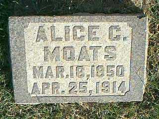 MOATS, ALICE C. - Taylor County, Iowa | ALICE C. MOATS