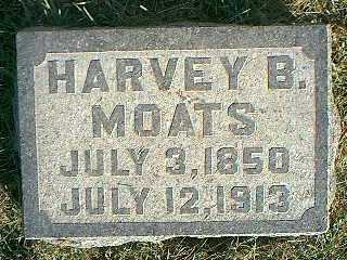 MOATS, HARVEY B. - Taylor County, Iowa | HARVEY B. MOATS