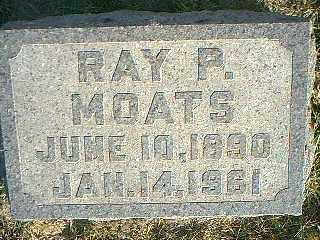 MOATS, RAY P. - Taylor County, Iowa | RAY P. MOATS