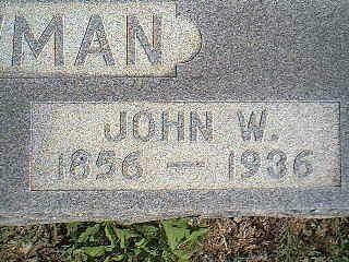 NEWMAN, JOHN W. - Taylor County, Iowa | JOHN W. NEWMAN