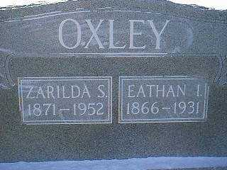OXLEY, EATHAN I. - Taylor County, Iowa | EATHAN I. OXLEY