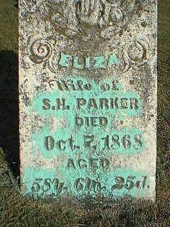 PARKER, ELIZA - Taylor County, Iowa | ELIZA PARKER