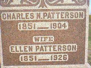 PATTERSON, CHARLES N. - Taylor County, Iowa | CHARLES N. PATTERSON