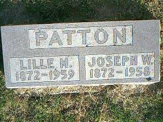 PATTON, JOSEPH - Taylor County, Iowa | JOSEPH PATTON