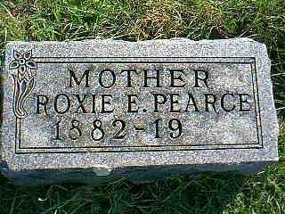 PEARCE, ROXIE E. - Taylor County, Iowa | ROXIE E. PEARCE