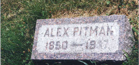 PITMAN, ALEX - Taylor County, Iowa | ALEX PITMAN