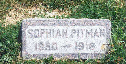 PITMAN, SOPHIAH - Taylor County, Iowa | SOPHIAH PITMAN