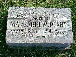 PLANTS, MARGARET M. - Taylor County, Iowa | MARGARET M. PLANTS