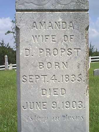 PROPST, AMANDA - Taylor County, Iowa | AMANDA PROPST