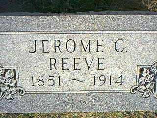 REEVE, JEROME C. - Taylor County, Iowa | JEROME C. REEVE