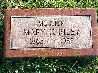 RILEY, MARY C. - Taylor County, Iowa | MARY C. RILEY