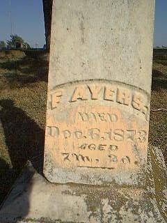 RUMBLE, F. AYERS - Taylor County, Iowa   F. AYERS RUMBLE