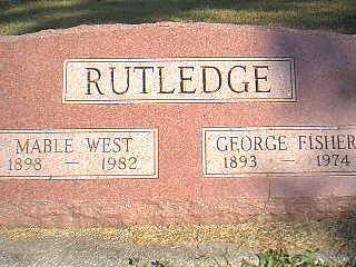 RUTLEDGE, GEORGE & MABLE - Taylor County, Iowa | GEORGE & MABLE RUTLEDGE