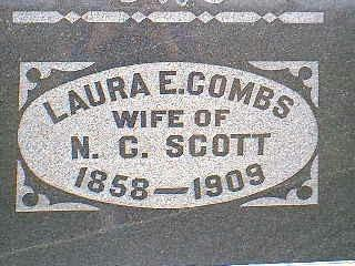 SCOTT, LAURA E. - Taylor County, Iowa | LAURA E. SCOTT