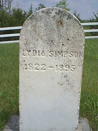 SIMPSON, LYDIA - Taylor County, Iowa | LYDIA SIMPSON
