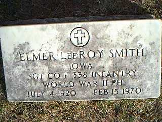 SMITH, ELMER LEEROY - Taylor County, Iowa | ELMER LEEROY SMITH