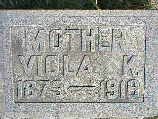 STAMPS, VIOLA K. - Taylor County, Iowa | VIOLA K. STAMPS