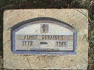 STRAIGHT, ALMER - Taylor County, Iowa | ALMER STRAIGHT