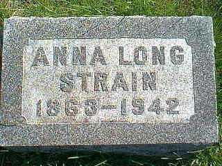 LONG STRAIN, ANNA - Taylor County, Iowa | ANNA LONG STRAIN