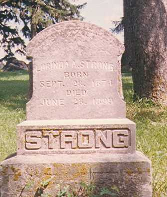 STRONG, LUCINDA ANN - Taylor County, Iowa | LUCINDA ANN STRONG