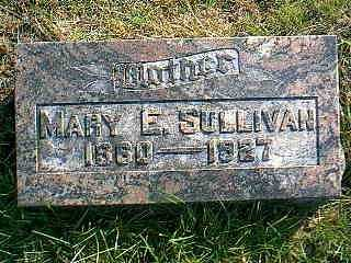 SULLIVAN, MARY E. - Taylor County, Iowa | MARY E. SULLIVAN