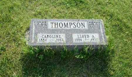 THOMPSON, LLOYD A. - Taylor County, Iowa | LLOYD A. THOMPSON