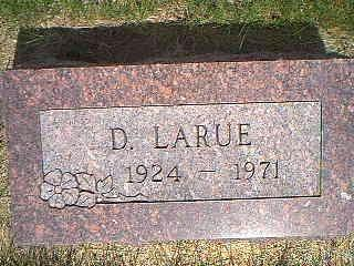 THOMPSON, D. LARUE - Taylor County, Iowa | D. LARUE THOMPSON