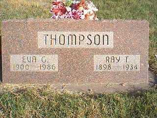 THOMPSON, RAY - Taylor County, Iowa | RAY THOMPSON