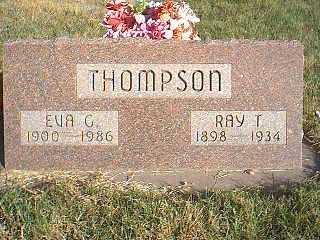 THOMPSON, EVA - Taylor County, Iowa | EVA THOMPSON