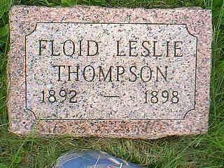 THOMPSON, FLOID - Taylor County, Iowa | FLOID THOMPSON