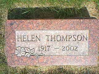 THOMPSON, HELEN - Taylor County, Iowa | HELEN THOMPSON