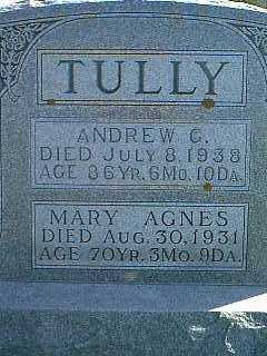 TULLY, ANDREW G. - Taylor County, Iowa | ANDREW G. TULLY