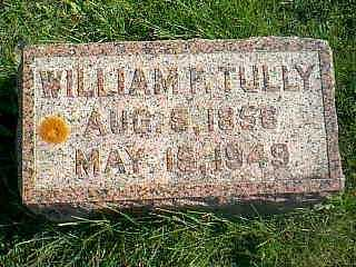 TULLY, WILLIAM F. - Taylor County, Iowa | WILLIAM F. TULLY