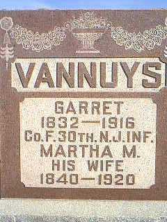 VANNUYS, MARTHA M. - Taylor County, Iowa | MARTHA M. VANNUYS