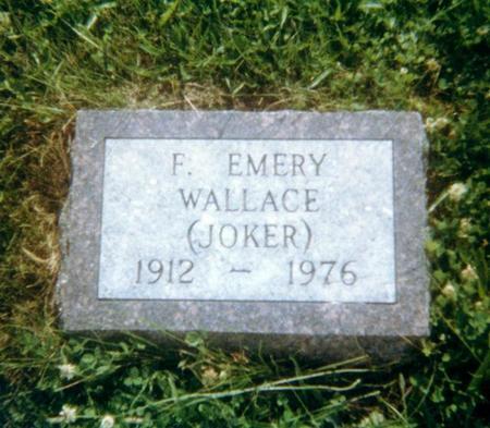 WALLACE, EMERY