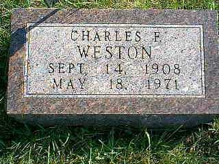 WESTON, CHARLES F. - Taylor County, Iowa | CHARLES F. WESTON