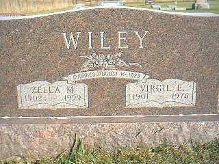WILEY, ZELLA M. - Taylor County, Iowa | ZELLA M. WILEY