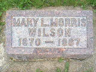 WILSON, MARY L. - Taylor County, Iowa | MARY L. WILSON