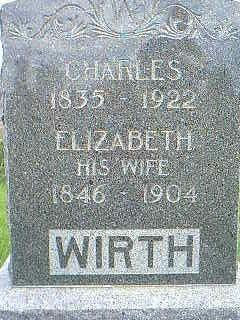 WIRTH, ELIZABETH - Taylor County, Iowa | ELIZABETH WIRTH