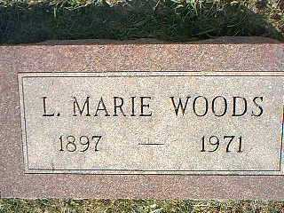 WOODS, L. MARIE - Taylor County, Iowa | L. MARIE WOODS