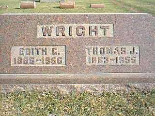 WRIGHT, THOMAS J. - Taylor County, Iowa | THOMAS J. WRIGHT