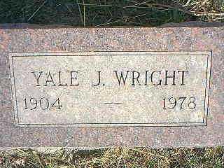 WRIGHT, YALE J. - Taylor County, Iowa | YALE J. WRIGHT