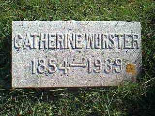 WURSTER, CATHERINE - Taylor County, Iowa | CATHERINE WURSTER