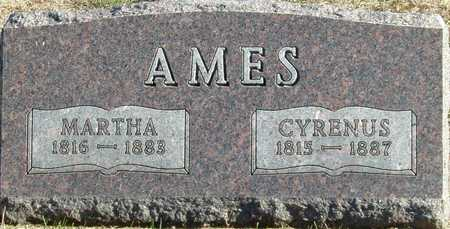 AMES, MARTHA - Union County, Iowa | MARTHA AMES