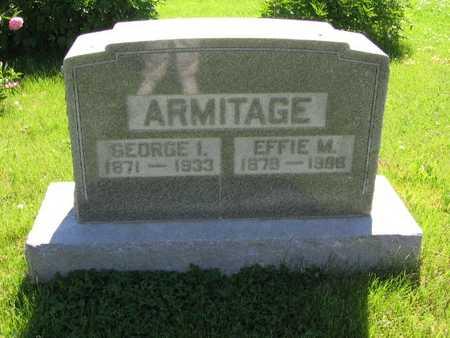 ARMITAGE, EFFIE M. - Union County, Iowa | EFFIE M. ARMITAGE