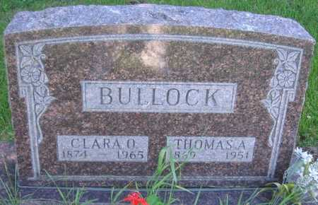 BULLOCK, THOMAS A. - Union County, Iowa | THOMAS A. BULLOCK